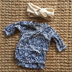 Other - Kate Quinn Organics and baby topknot baby outfit